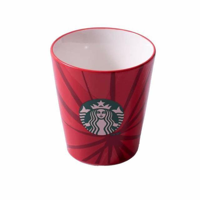陶瓷杯紅色杯子馬克杯