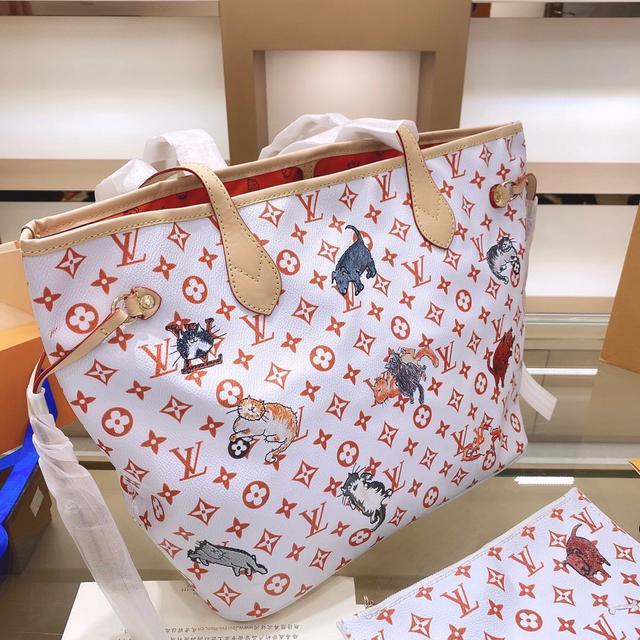 撞包也值得的LV Neverfull购物袋妈咪包