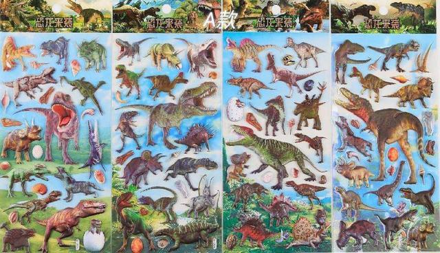 『預購』恐龍泡棉貼紙/獎勵貼紙