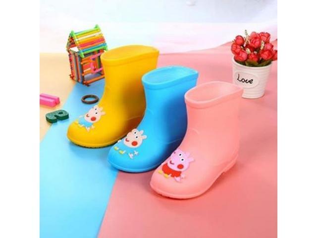 兒童可愛佩佩豬雨鞋