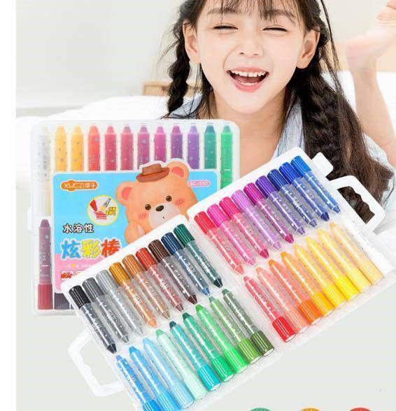36色水蠟筆(内附水彩筆一支)