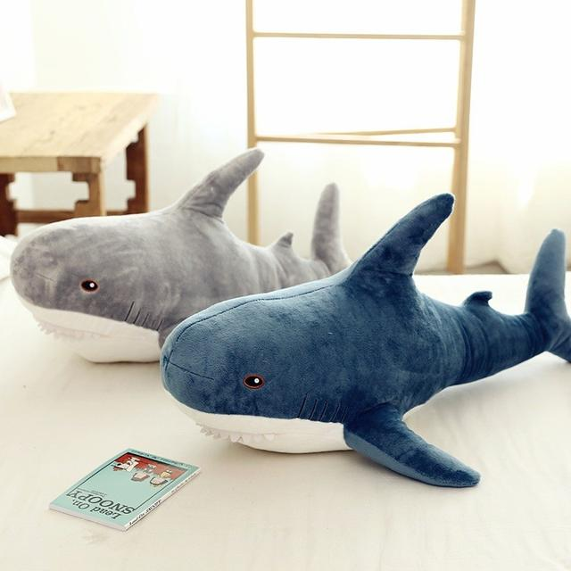 C 預購 INS鯊魚抱枕玩偶100cm