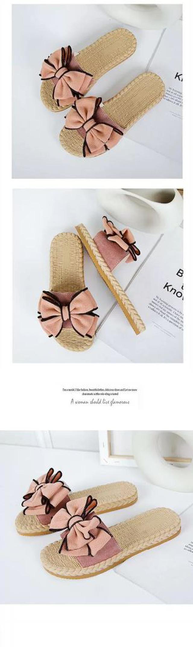 超美立體蝴蝶結 拖鞋