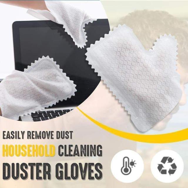(預購S) G1049 - 乾濕兩用靜電除塵手套10入包