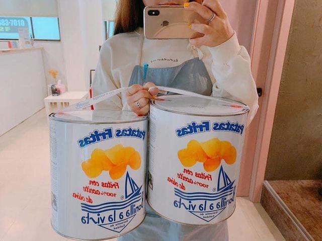 4/25結單油漆桶海鹽洋芋片 275g