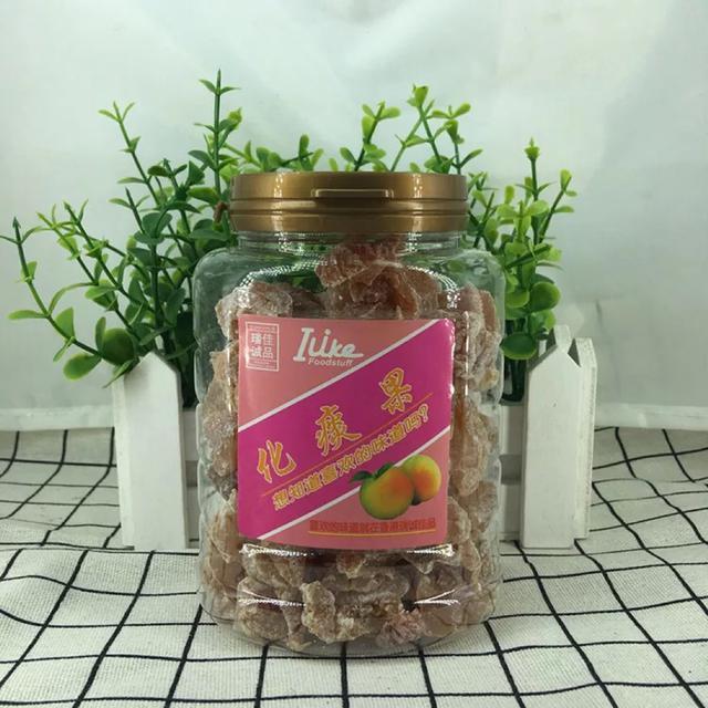 批發香港進口零食 llike 化痰果蜜餞190g*24瓶/箱