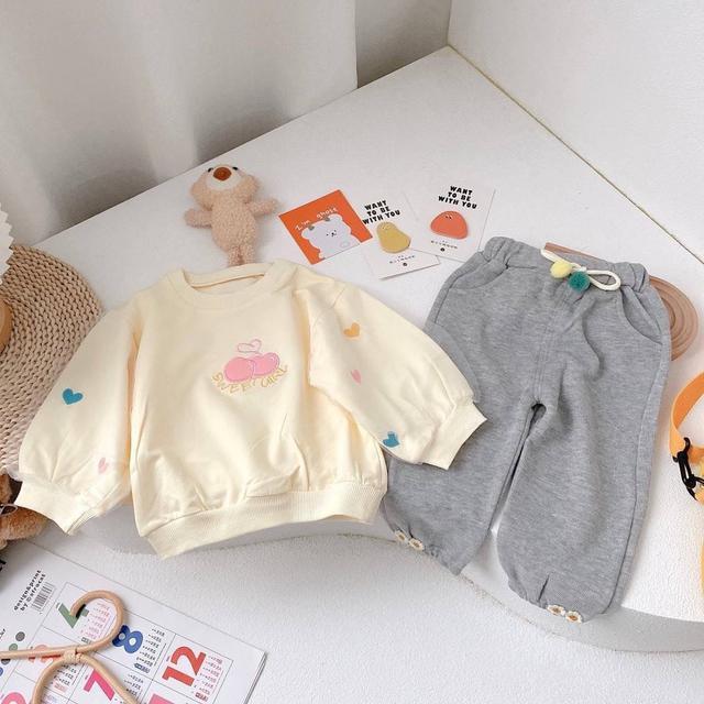 WKD05-19 甜美彩色愛心套裝2件組