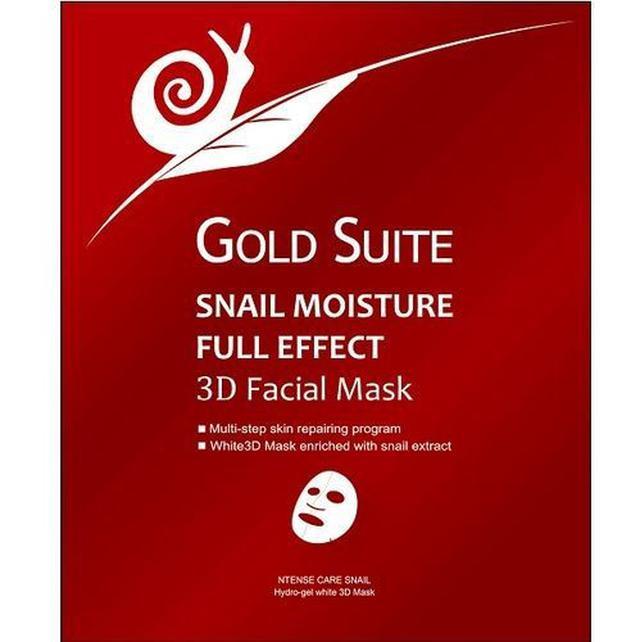 誠徵代理 Gold Suite3D蝸牛修復面膜
