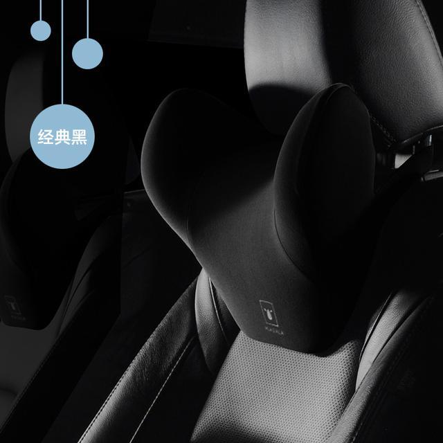 《一組2入》汽車頭枕腰靠套裝-小牛款/頸枕/汽車百貨/長途/人體工學