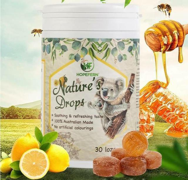 澳洲 Hopefern Nature's Drops自然之寶喉糖 30粒/盒