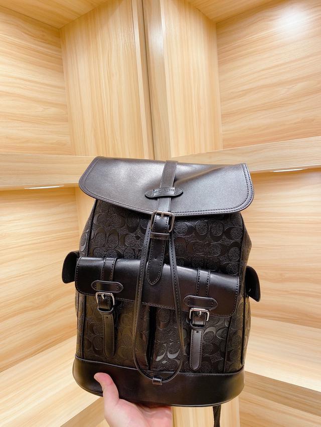 2020 最新款 「Coach蔻馳」雙肩包💼進口原廠面料