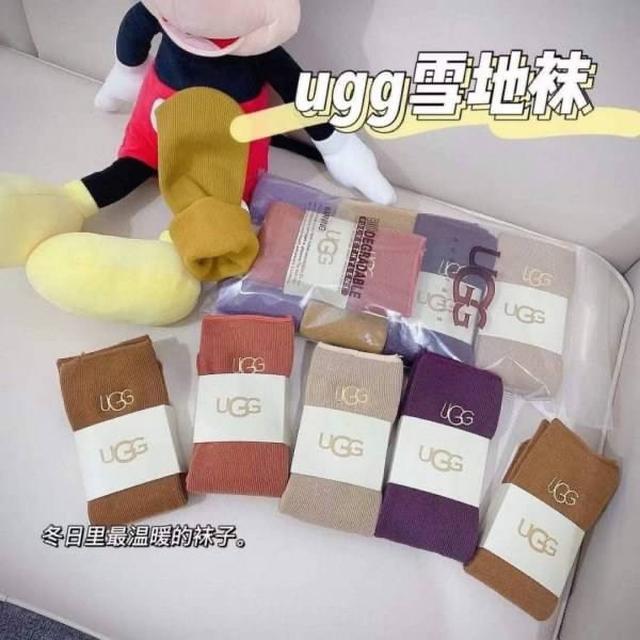 UGG羊絨雪地襪 一組5雙隨機