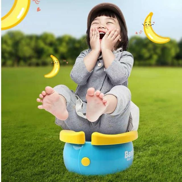 香蕉折疊坐便器