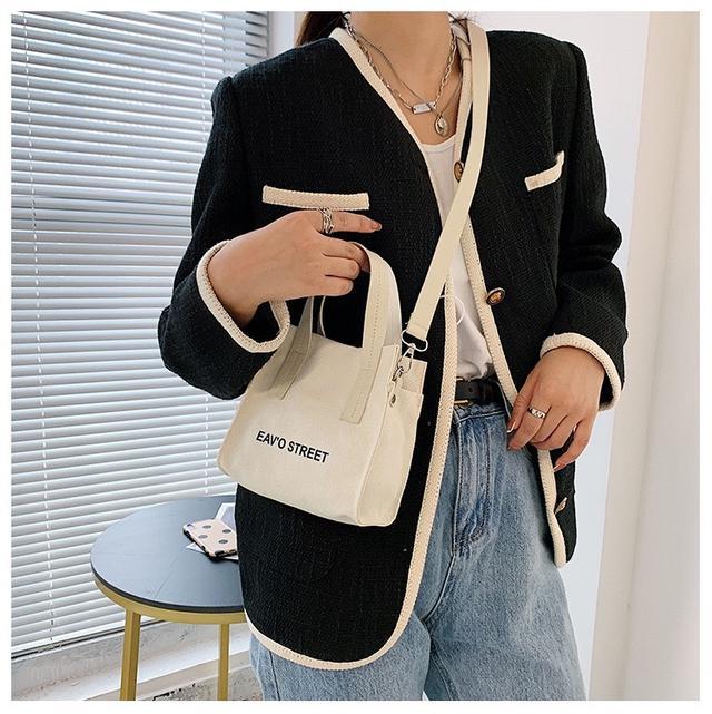 p.in shop-正韓帆布手提包側背包