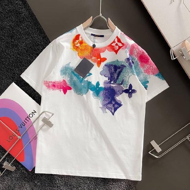 LV原單代購男女同款短袖T恤