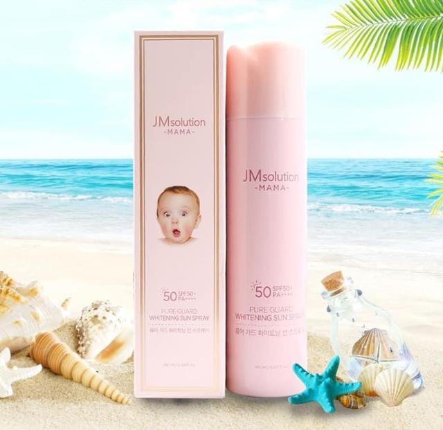 韓國JM solution媽媽寶寶敏感肌防護隔離亮白噴霧180ml