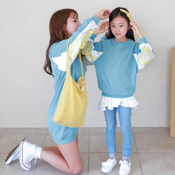 11 休閒純棉衛衣 親子裝 8044