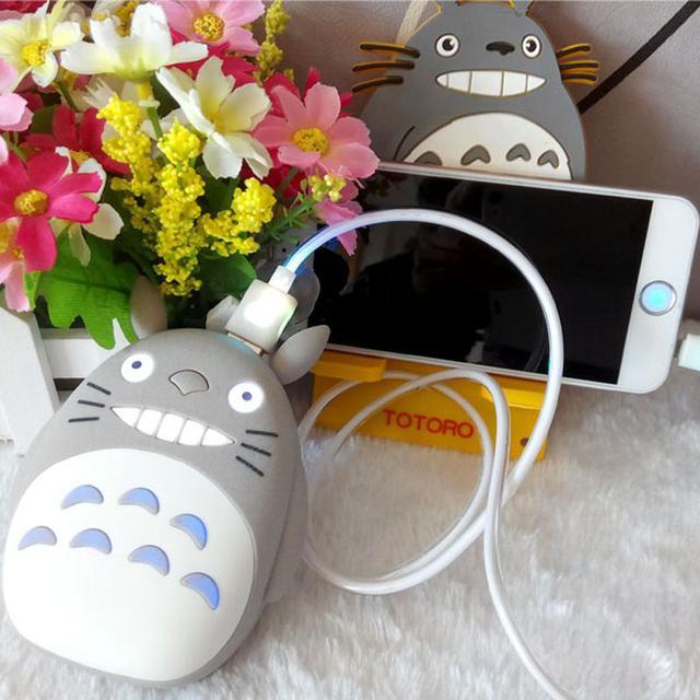 龍貓造型行動電源,禮盒裝,12000mha