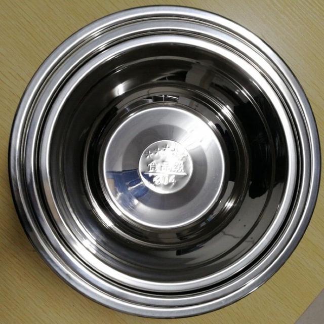 304不鏽鋼 打蛋盆 20/22/24公分打蛋盤 真是測試沙拉盤 奶油盤 洗菜盆
