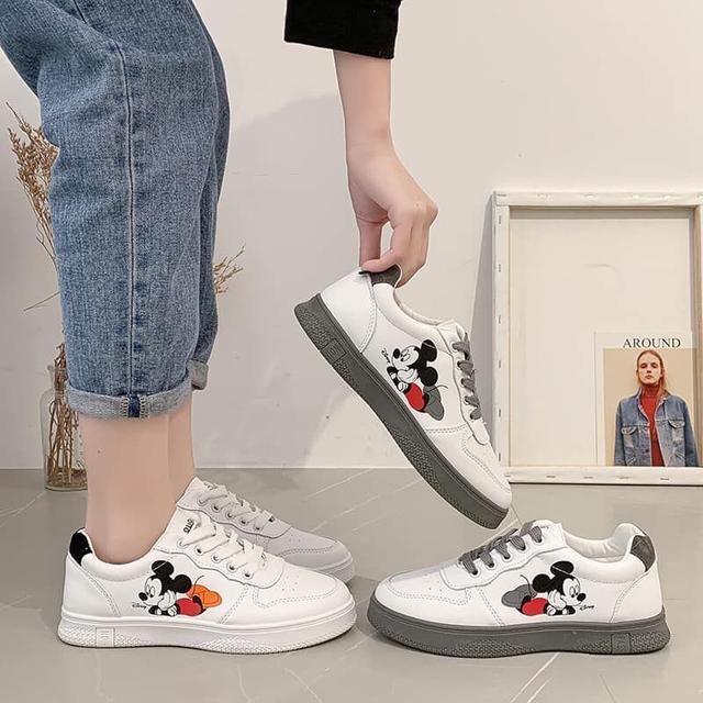 🔥米奇復古休閒小白鞋🔥
