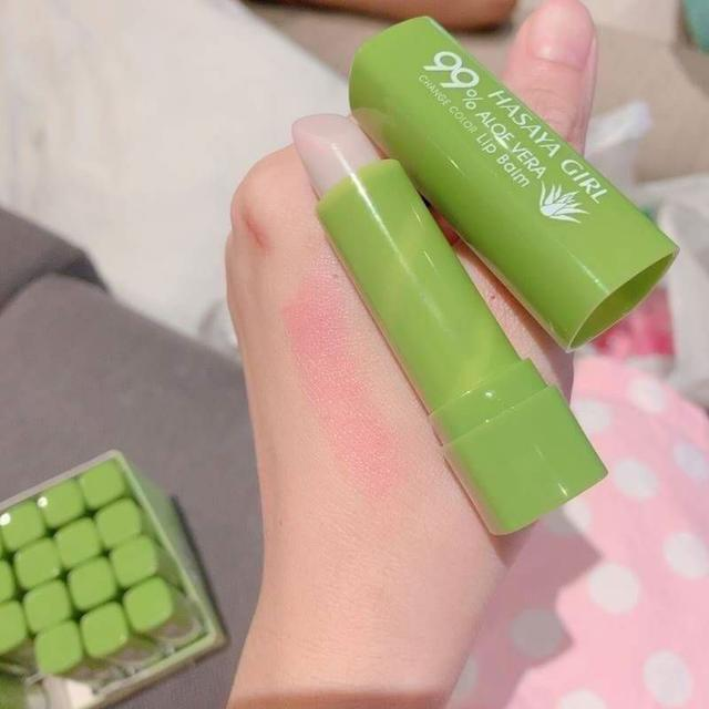 泰國最新99%蘆薈保濕潤色護唇膏