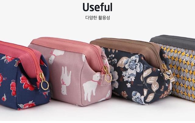 韩版旅行化妆包清新收纳大容量化妆品收纳包化妆袋多功能洗漱包