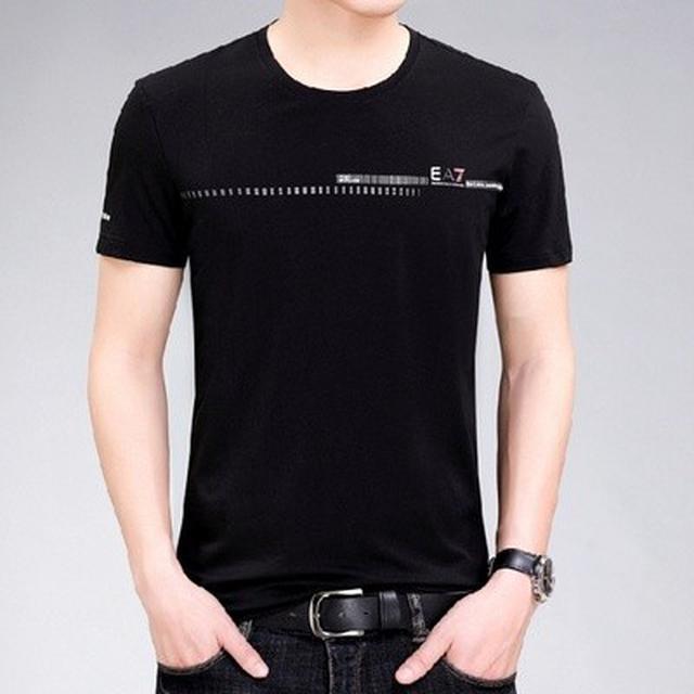 06 M-4XL 優質商務絲光棉短袖T恤(2色)