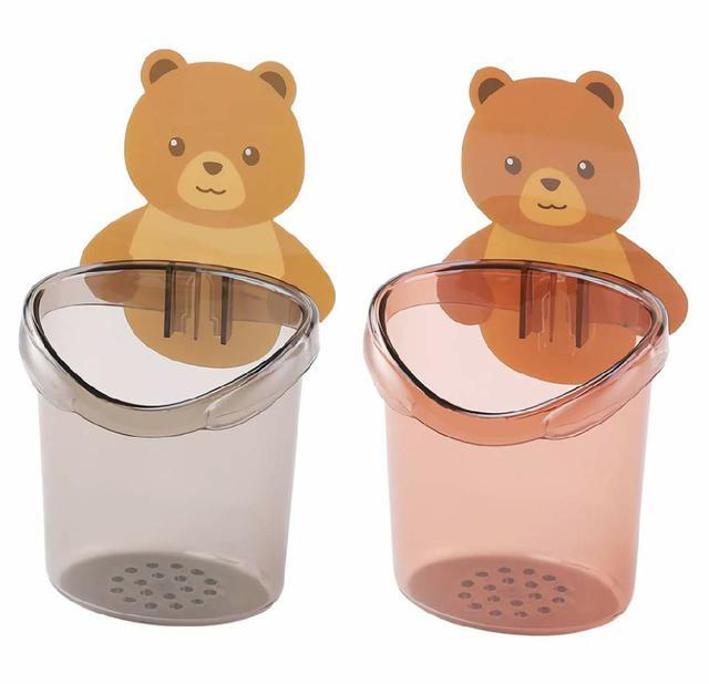 (預購s+) A143-可愛小熊置物杯(一組2個)