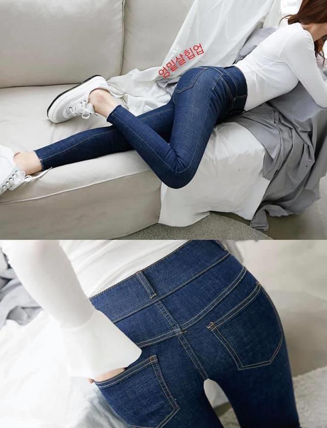 💝韓國7STAR收腹提臀經典款牛仔褲