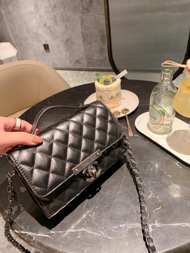 Chanel/香奈兒網紅爆款 新款單肩斜跨包