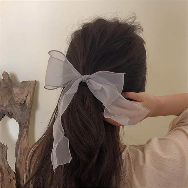 【預購】韓國歐根紗髮圈