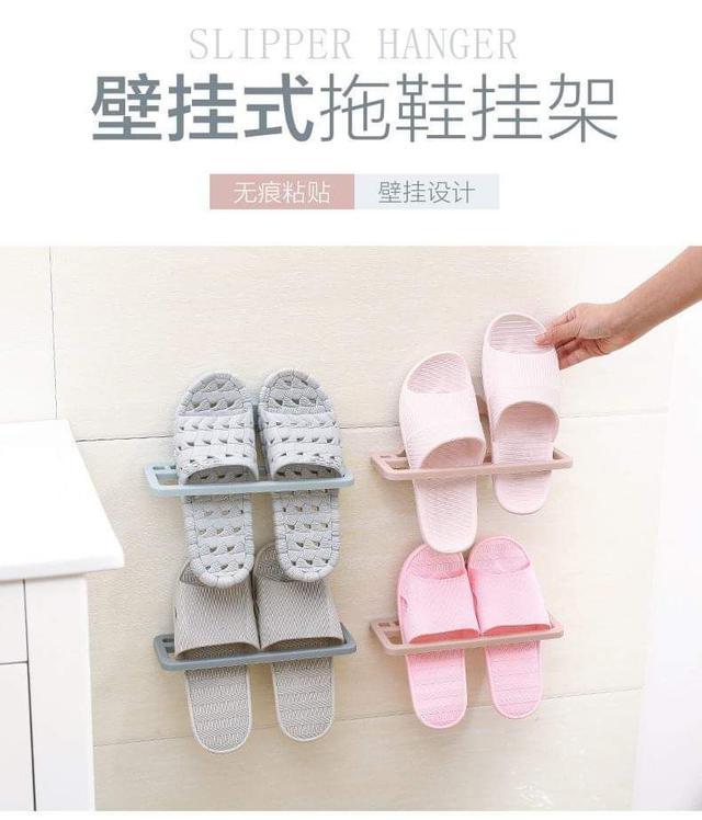 壁掛式拖鞋架
