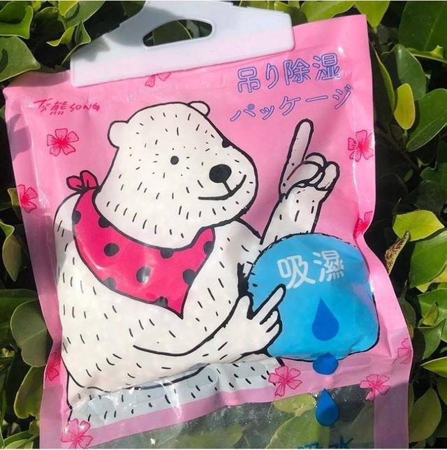 熊熊除濕包