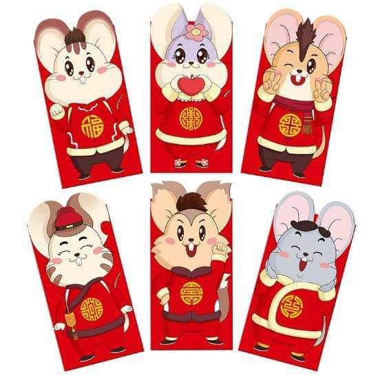 現貨2(預購S) 限量立體2020年鼠年紅包袋套組(一組四款各一)