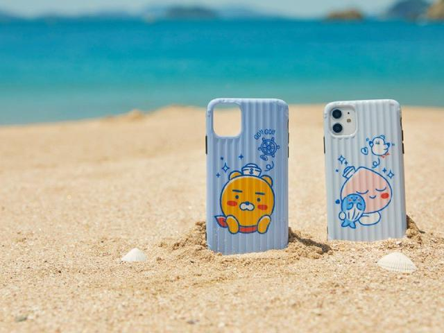 kakao海軍系列 行李箱紋路手機殼