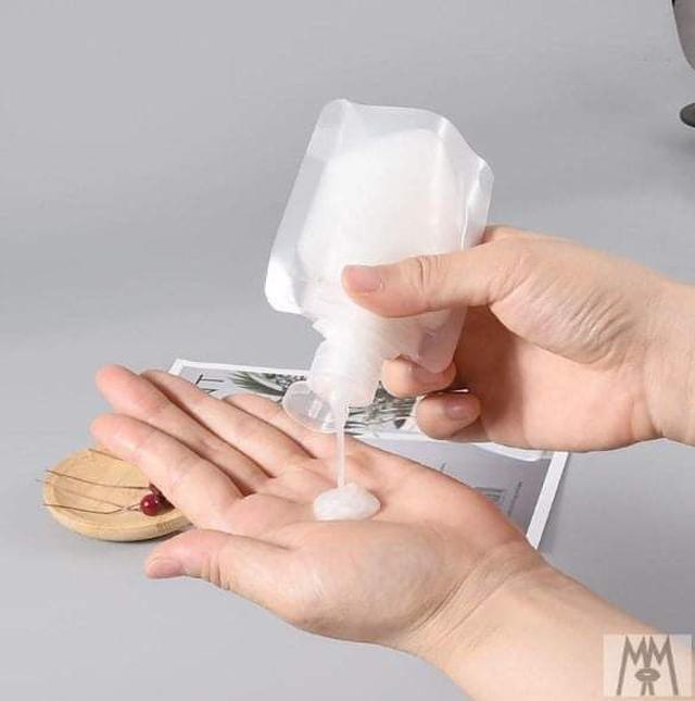 (預購S) G1010 - 旅行盥洗用品蓋子分裝袋(一組10入  )