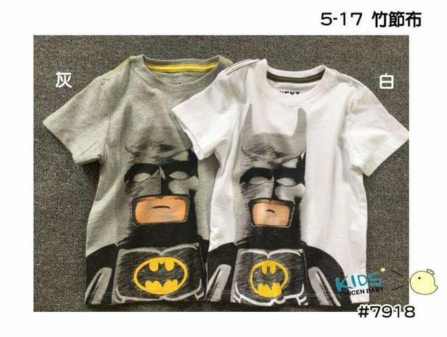 #7918 蝙蝠俠短T (5-17)