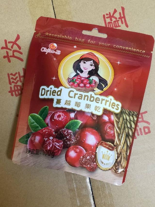 巧益 蔓越莓果乾。120g