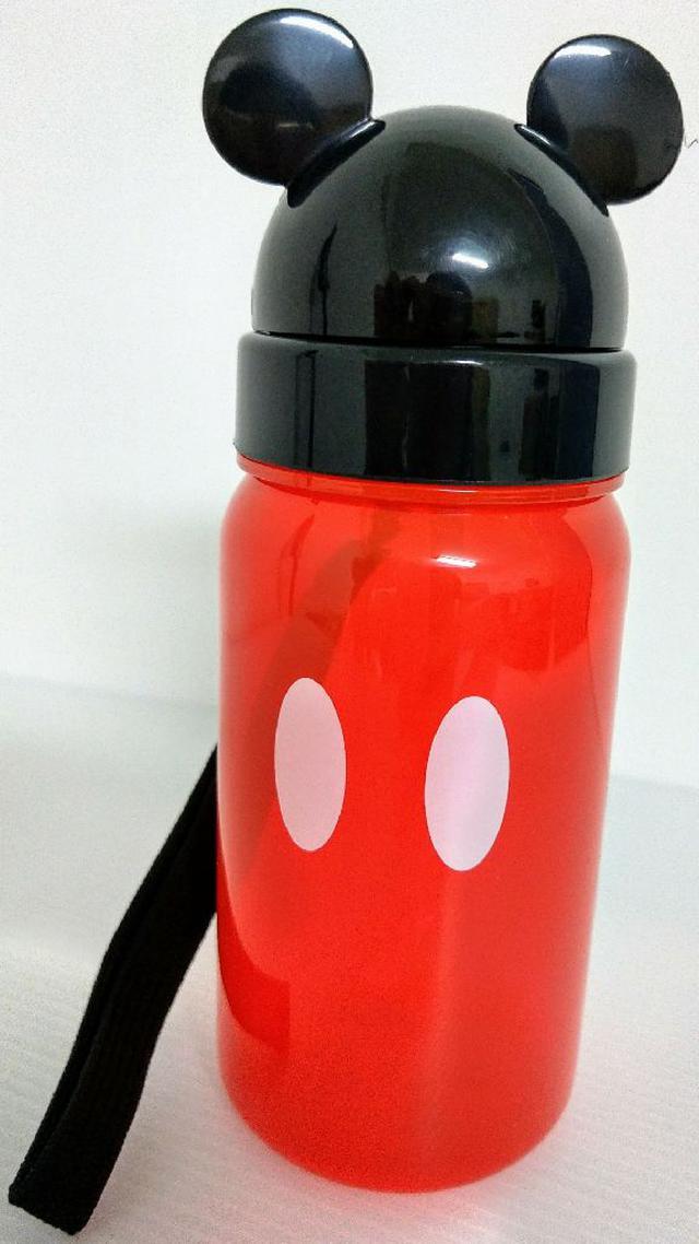 【SKATER】造型吸管水壺350ml-米奇