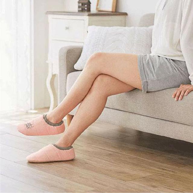 日本OL溫美活室內保暖襪拖鞋