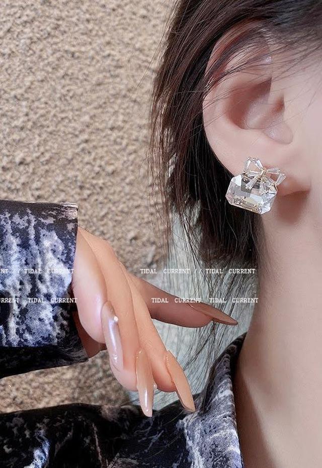 💖預購💖法式蝴蝶結耳環