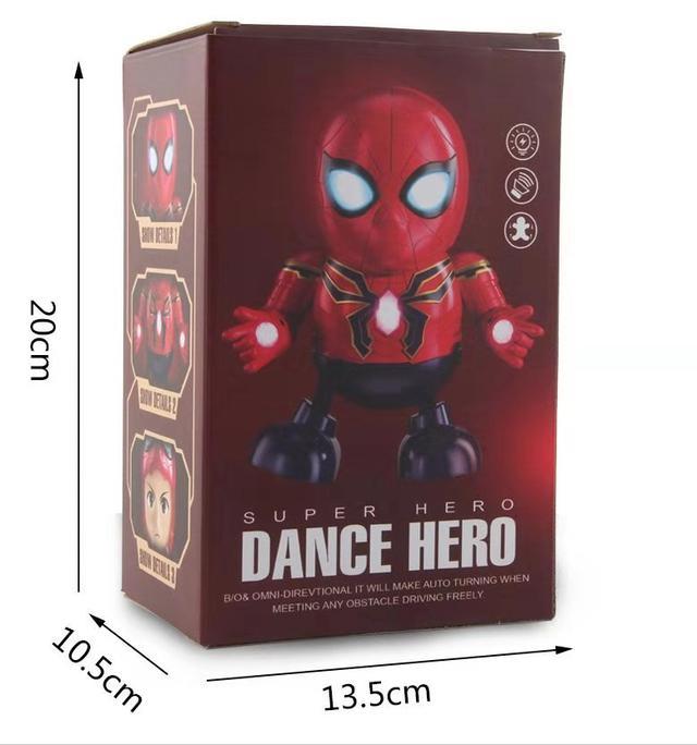 可開面罩跳舞蜘蛛人