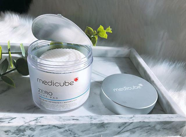 韓國 Medicube zero 1.0 去角質毛孔緊緻爽膚棉/清潔棉 70片一罐~