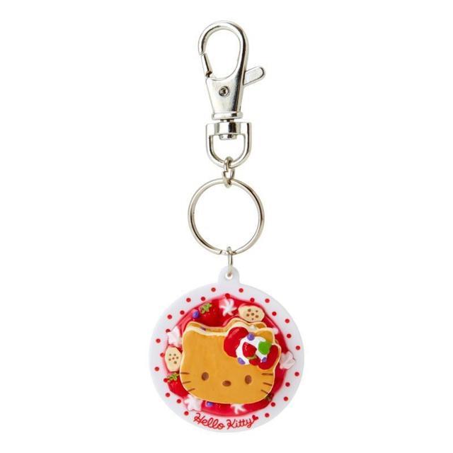 現貨 日本 正品 Hello Kitty 鑰匙圈 草莓鬆餅造型