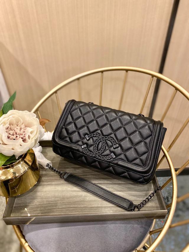 Chanel 寶藏級 中古包 小香cf 菱格款 高級致黑五金 這個太美啦