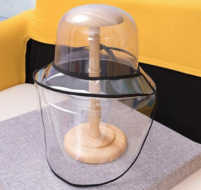 親子款防飛沫防塵漁夫帽罩/可拆卸面罩