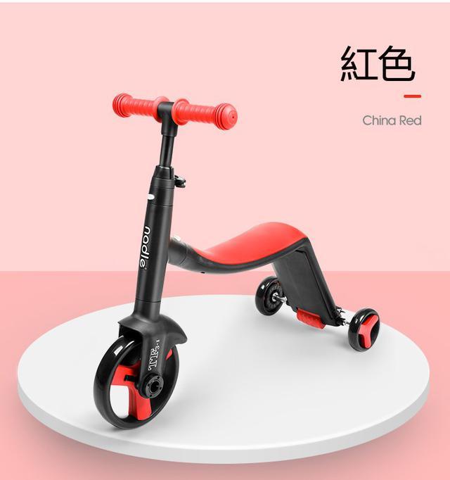 3合1滑板車 滑步車 三輪車兒童滑板車 平衡車