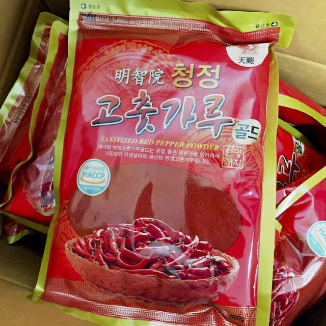 韓國 辣椒粉 明智院 清淨辣椒粉 600g