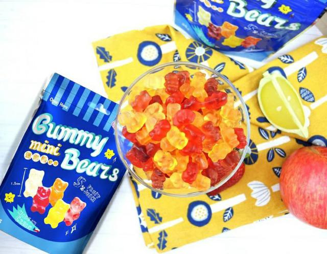 5/23 Gummy Bear小熊軟糖x Kamill限定款鐵盒4件組