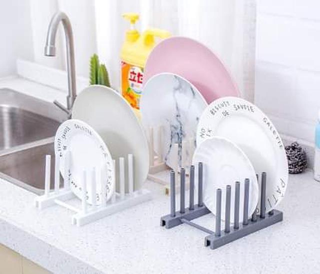 (預購S) 可拆式廚房盤子置物架(一組3個)